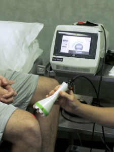 Laser Therapy Knee Treatment_Close Up